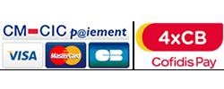 paiement par CB et par Cofidis Pay
